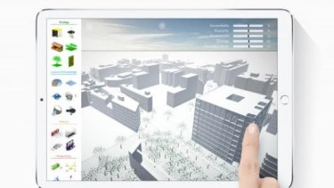 Barcelona's SuperBarrio software for city planning.