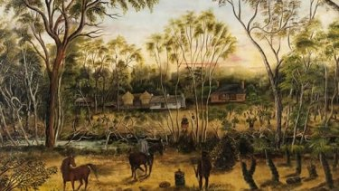 """Unknown Land"" shows paintings and sketches of WA's earliest days."