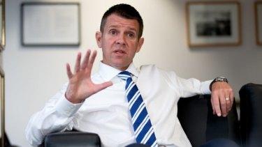 Urgent? Premier Mike Baird.