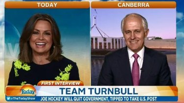 Malcolm Turnbull asked Lisa Wilkinson: why are you so negative?