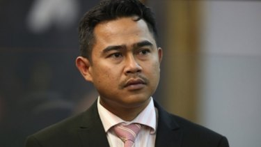 Former military attache with the Malaysian High Commission in Wellington, Muhammad Rizalman.