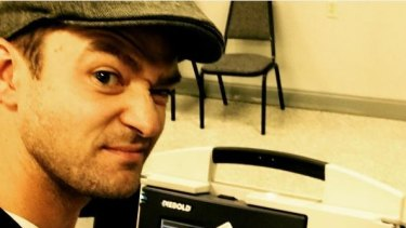 Justin Timberlake's Instagram post could earn him a $65 fine in the US.
