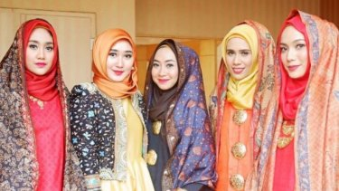 Ria Miranda was one of the first designers to create the Hijabers collective with a group of like minded fashion designers.