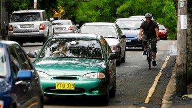 Drivers must keep a minimum of metre distance.