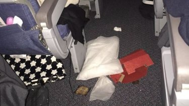 Passengers and belongings hurtled through the cabin after an Air Canada flight hit severe turbulence over Alaska.