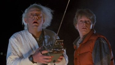 Back to the Future (1989) took on the idea of time-travel.