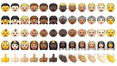 Skin tone variations were recently added.