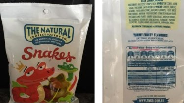 The Natural Confectionery Co defines itself as 'natural' for using no artificial colours or flavours.