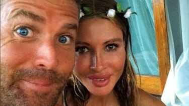 Paleo partners: Pete Evans and Nicola Robinson have tied the knot.