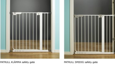 Patrull children's safety gates.