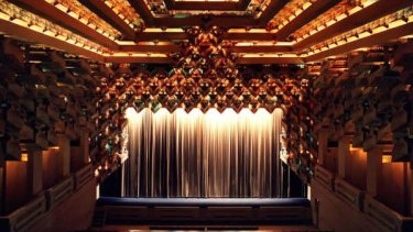 The Capitol Theatre was created out of a former cafe by its Greek owner and an American architect.
