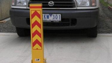 Bollards can put an end to car-park disputes.