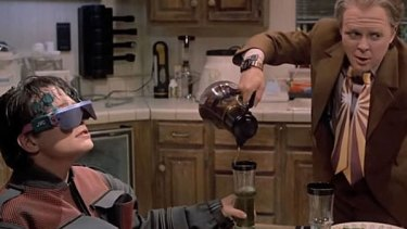 Electronic glasses in Back to the Future II, but the double ties never caught on.