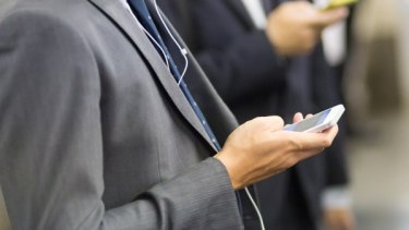 More than 60 per cent of smartphones users say they need their devices to juggle work and their personal life.