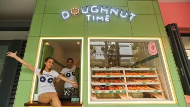 The offending Doughnut Time T-shirts now removed from social media after a sprinkle of  criticism.