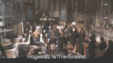 Every child wished they could go to Hogawalz.
