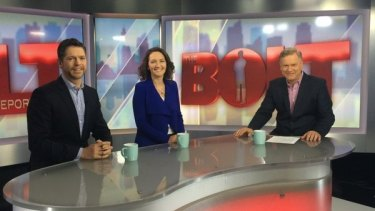 Georgina Downer during one of her appearances on