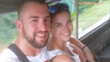 Canberra couple Sam William and Shani Bourne were badly injured in a crash in Thailand.?