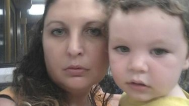 """""""She really did love Seth"""": Mr Davis said Stacey Docherty, 38, put their son first."""