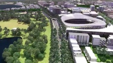 ACT Brumbies open to synthetic turf at proposed $350 million