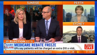 Sam and Kochie host a debate between Liberal MP Michaelia Cash and Labor MP and Labor MP Jason Clare.