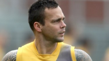 Jake King says he and Ben Cousins have maintained a friendship since they both called time on their careers.