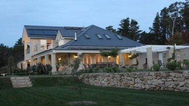 Dungowan, the $2 million holiday house being rented out.