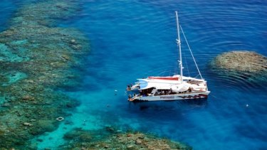 Passions of Paradise has taken hundreds of thousands of tourists to the reef, with a fatality in 1997.