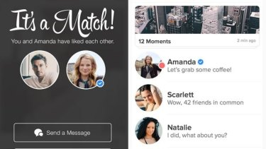 Tinder is now verifying users with a blue tick.