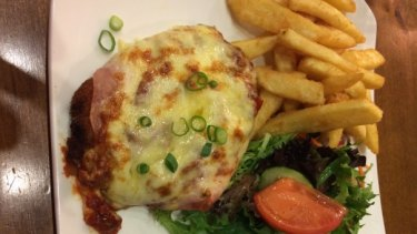 It's a winner...the Parma from the Calamvale Hotel, currently leading Humphrey's rankings.