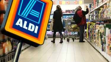 Aldi Home Deliveries has been registered to the corporate regulator - but not by Aldi.