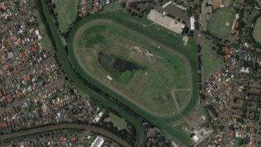 Canterbury Racecourse site.