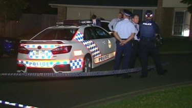 Police investigate a suspected double murder at Upper Coomera, on the Gold Coast.