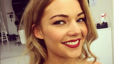 New life: Sam Frost has put the pain of rejection behind her.