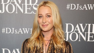 Asher Keddie opened up about returning to the Offspring set with son Valentino at the David Jones Autumn/Winter 2016 Fashion Launch.