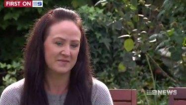 Ora Holt's grieving sister, Brenna Dunne.