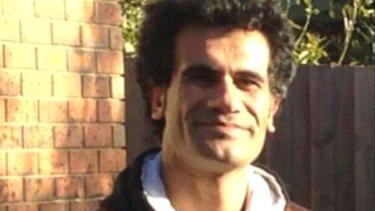 Fazel Chegeni was found dead on Christmas Island.