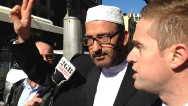 Siege gunman: Man Haron Monis, who died at the scene.