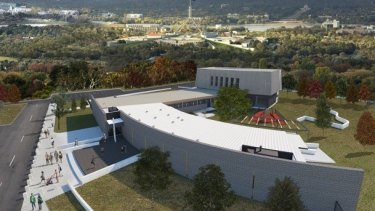 The planned National Jewish War Memorial and Museum at the National Jewish Memorial site in Forrest.