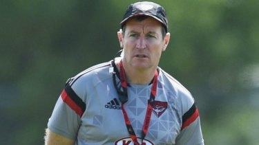 Big decisions: coach John Worsfold.