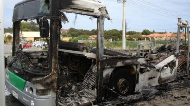 The same type of buses have been an issue in the past including this one that burst into flames in Munster in 2012