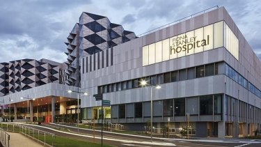 Philip Olsen said his son described Fiona Stanley Hospital as a 'mad house'