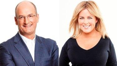 <i>Sunrise</i> hosts David Koch and Samantha Armytage are on track to win 2017.