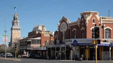 The quiet streets of Kalgoorlie which I remember.