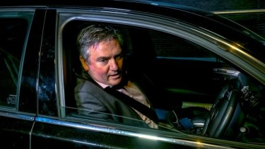 Eddie McGuire will be among club presidents addressed by the Our Watch group