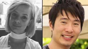 Victims of the Bourke St rampage, Jess Mudie and Matthew Si.