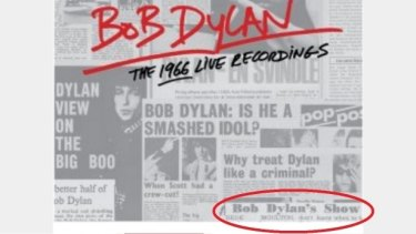 WA man Rede Moulton's letter to the editor is included in the liner notes of Bob Dylan's new album.