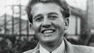 Eric Nelson in about 1950.