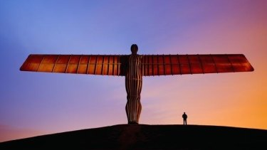 The commissioning of Antony Gormley's statue <i>Angel of the North</i> kickstarted the cultural and economic regeneration of Newcastle and Gateshead.