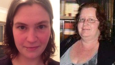 Jemma Lilley, left, and Trudi Lenon blamed each other for Aaron Pajich's death.